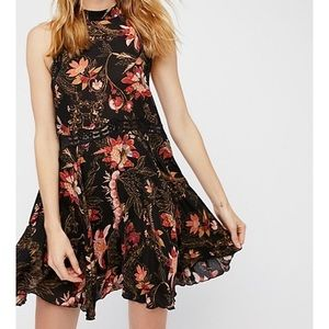 Free People Intimately She Moves Printed Dress